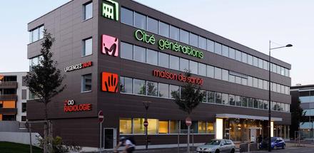 Cité Générations et maison de santé