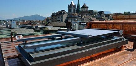 Protections solaires pour vérandas et verrières