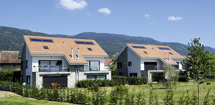 4 Villas jumelles, La Rippe