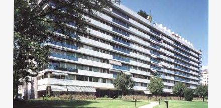 Immeuble Rue de Moillebeau 50 à 58
