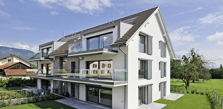 Bâtiment de six logements