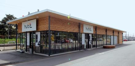 Pavillon Commercial - Gare CFF