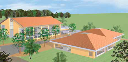 Groupe scolaire et salle polyvalente