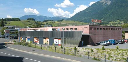 Centre commercial d'Agaune