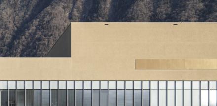 Ce gros hôpital de Suisse se subdivise en quatre blocs reliés par un module longitudinal central