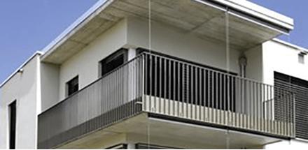 Nouvel espace de vie urbain composé de 7 volumes en terrasse