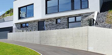 Ces 6 nouvelles villas individuelles offrent un magnifique dégagement sur le lac et les Alpes